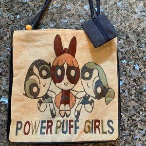 Powerpuff Girls Tote Bag with Change Purse Key Tag